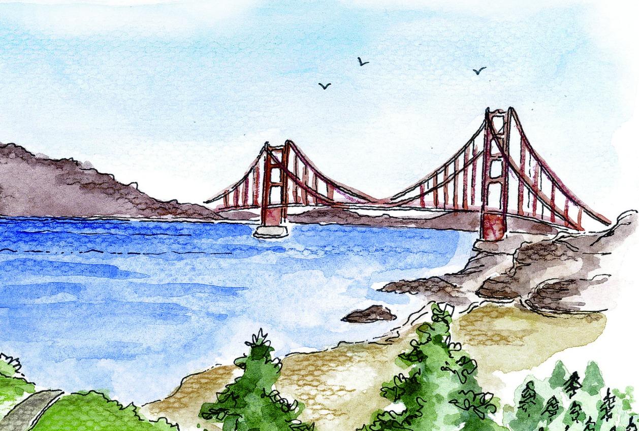 bridge- sketch